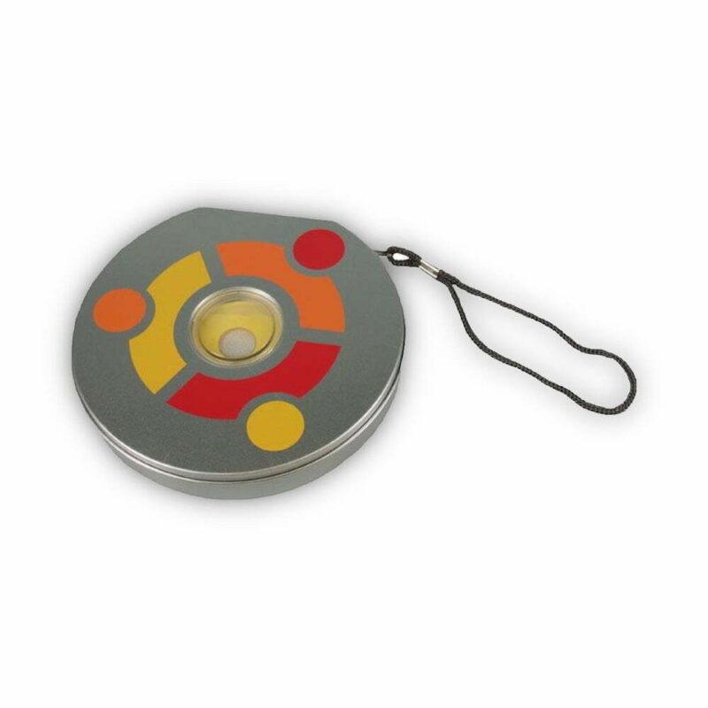 Ubuntu CD/DVD metal box