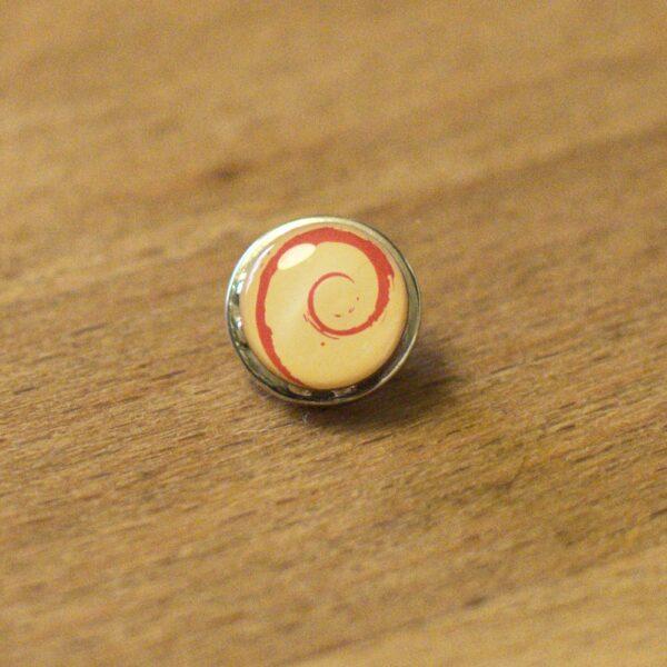 Linux badge med Debian