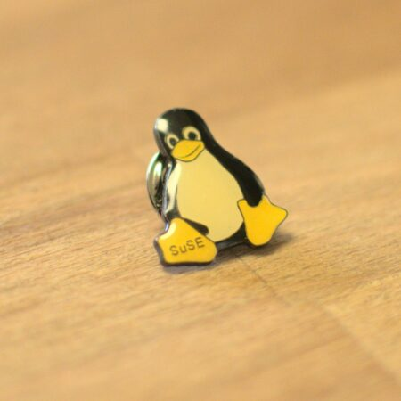 Linux badge with Tux / SUSE