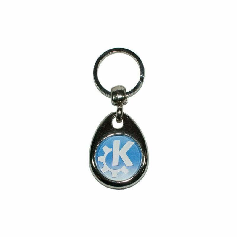 Nøglering med KDE logo
