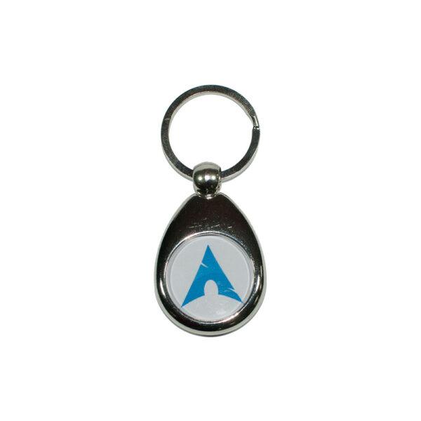 Nøglering med Arch Linux logo