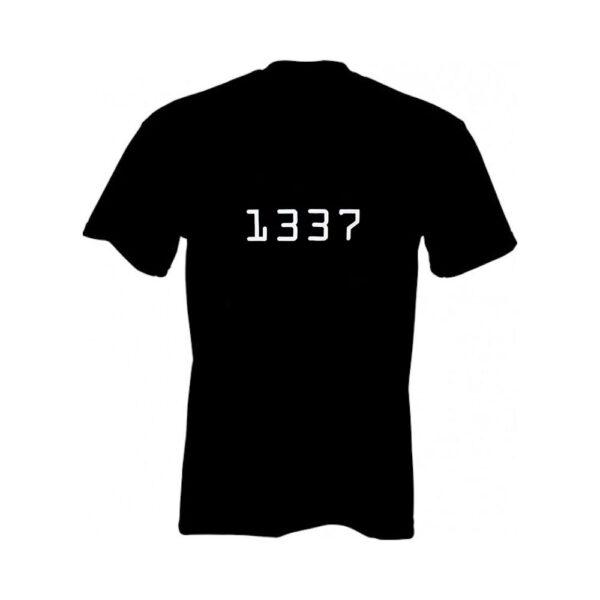"""Geek T-shirt """"1337"""""""